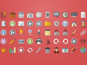 Free Flat Vector Icons 2