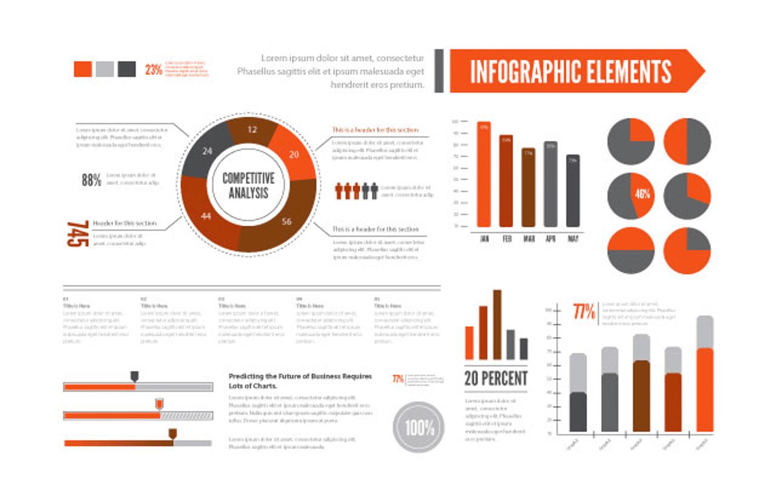 Vector Infographic Elements — Medialoot