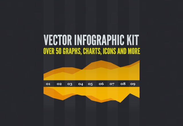 Free Vector Infographic Kit 1