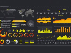 Free Vector Infographic Kit 2