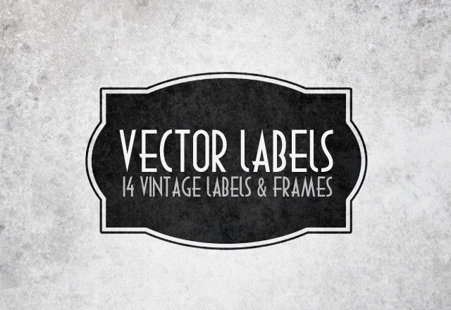 Vector Labels & Frames