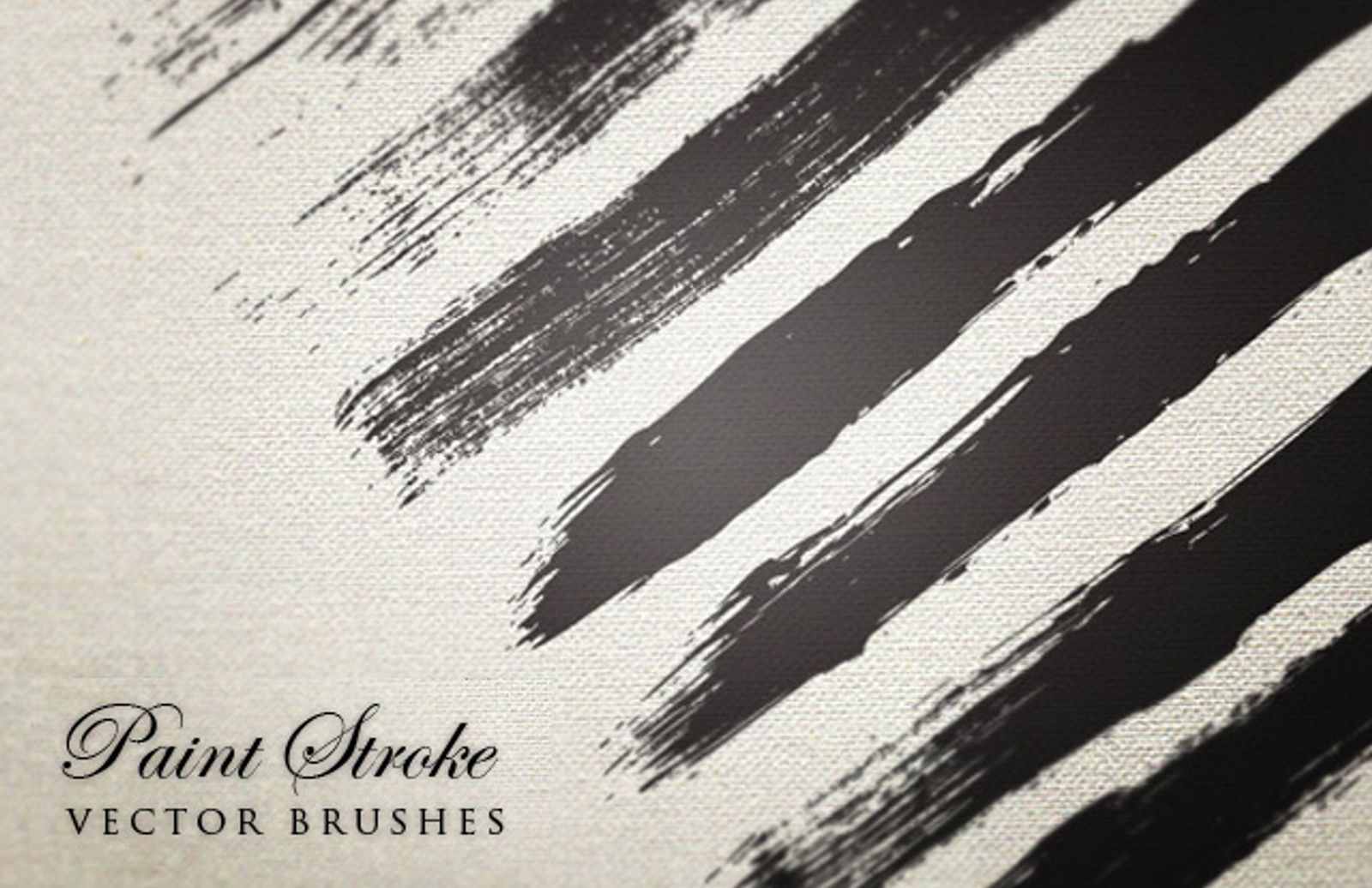 Vector  Paint  Stroke  Brushes  Preview1