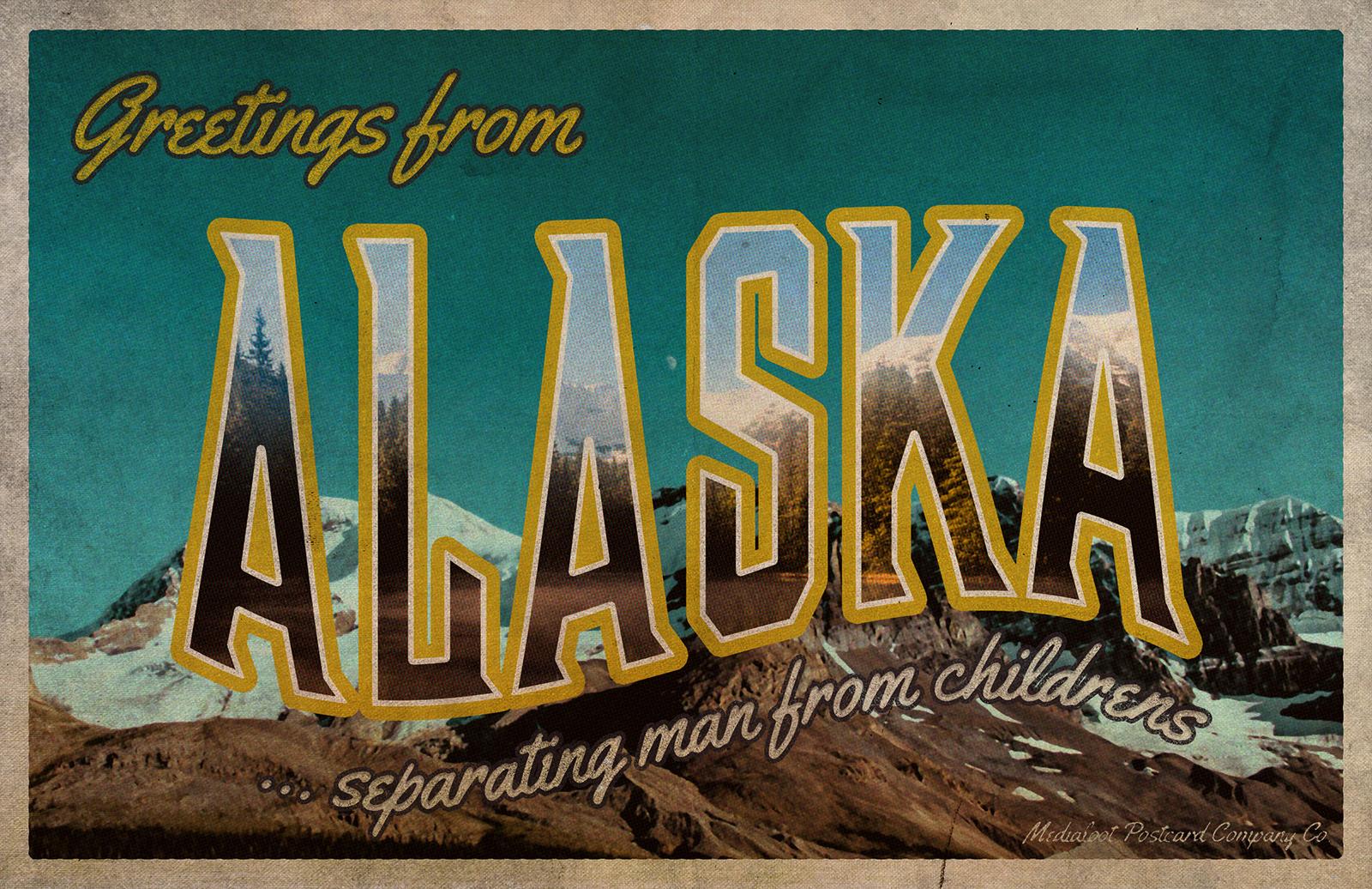 Vintage Greetings Postcard Generator