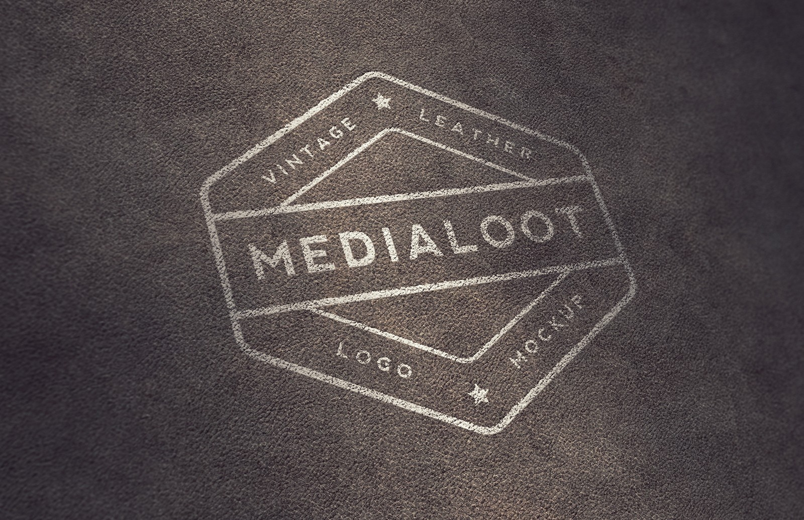 Vintage Leather Logo Mockups