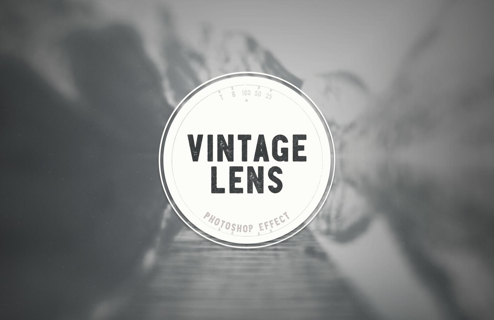 Vintage Lens Effect