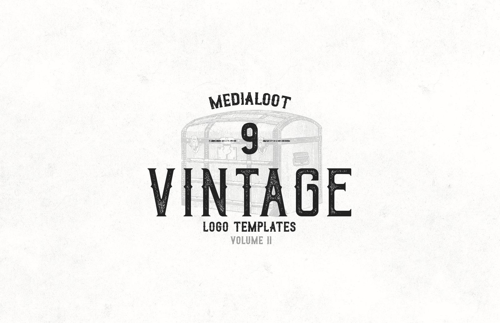 Vintage Logo Templates 2