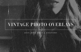Vintage Photo Overlays