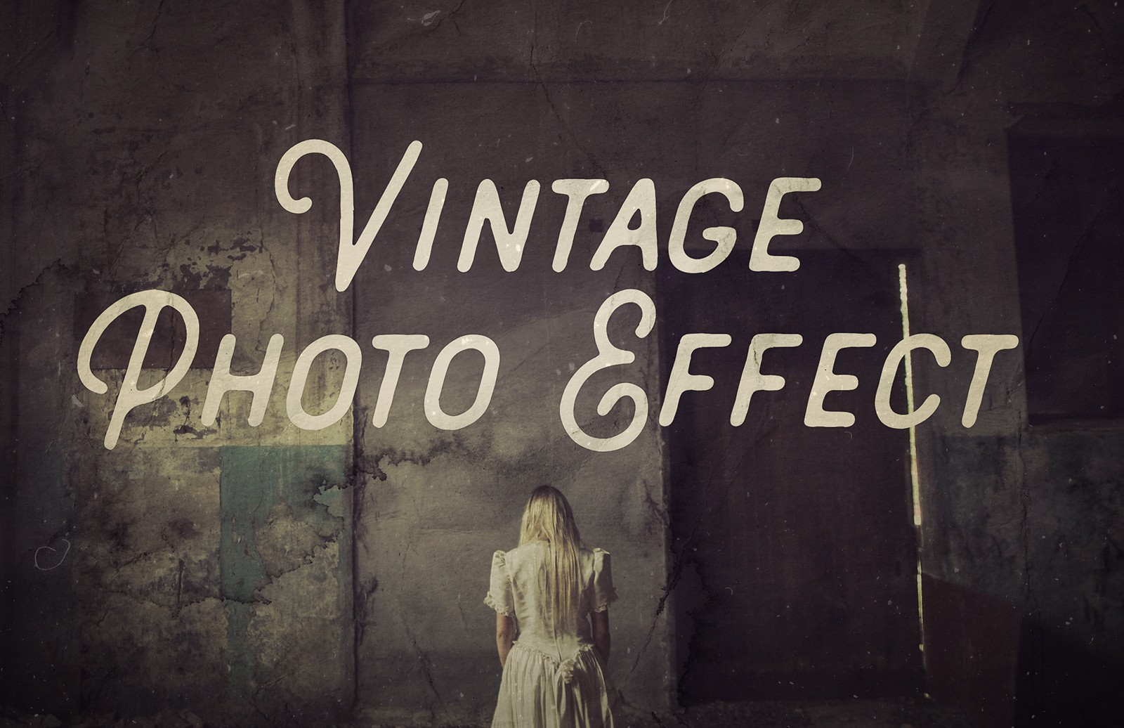 Vintage Photo Effects for Photoshop