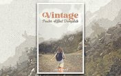 Vintage Poster Photoshop Effect Template