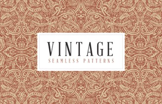 Free Vintage Seamless Vector Patterns