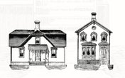 Vintage Vector Houses