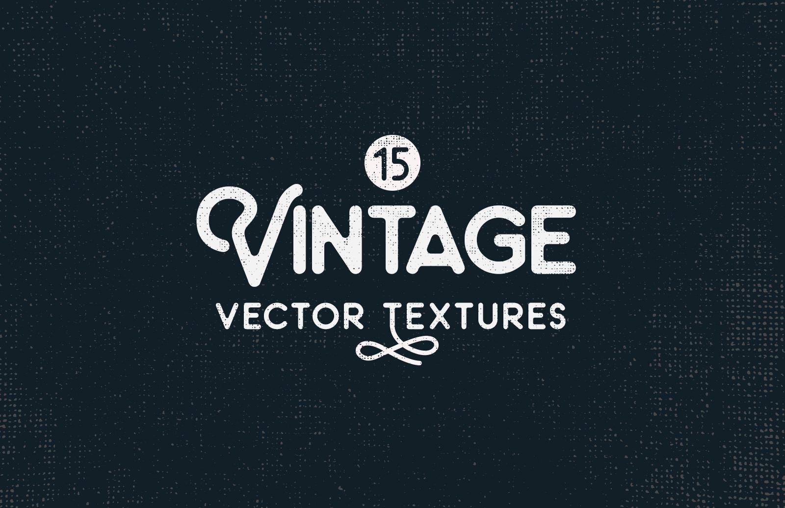 Vintage Vector Textures