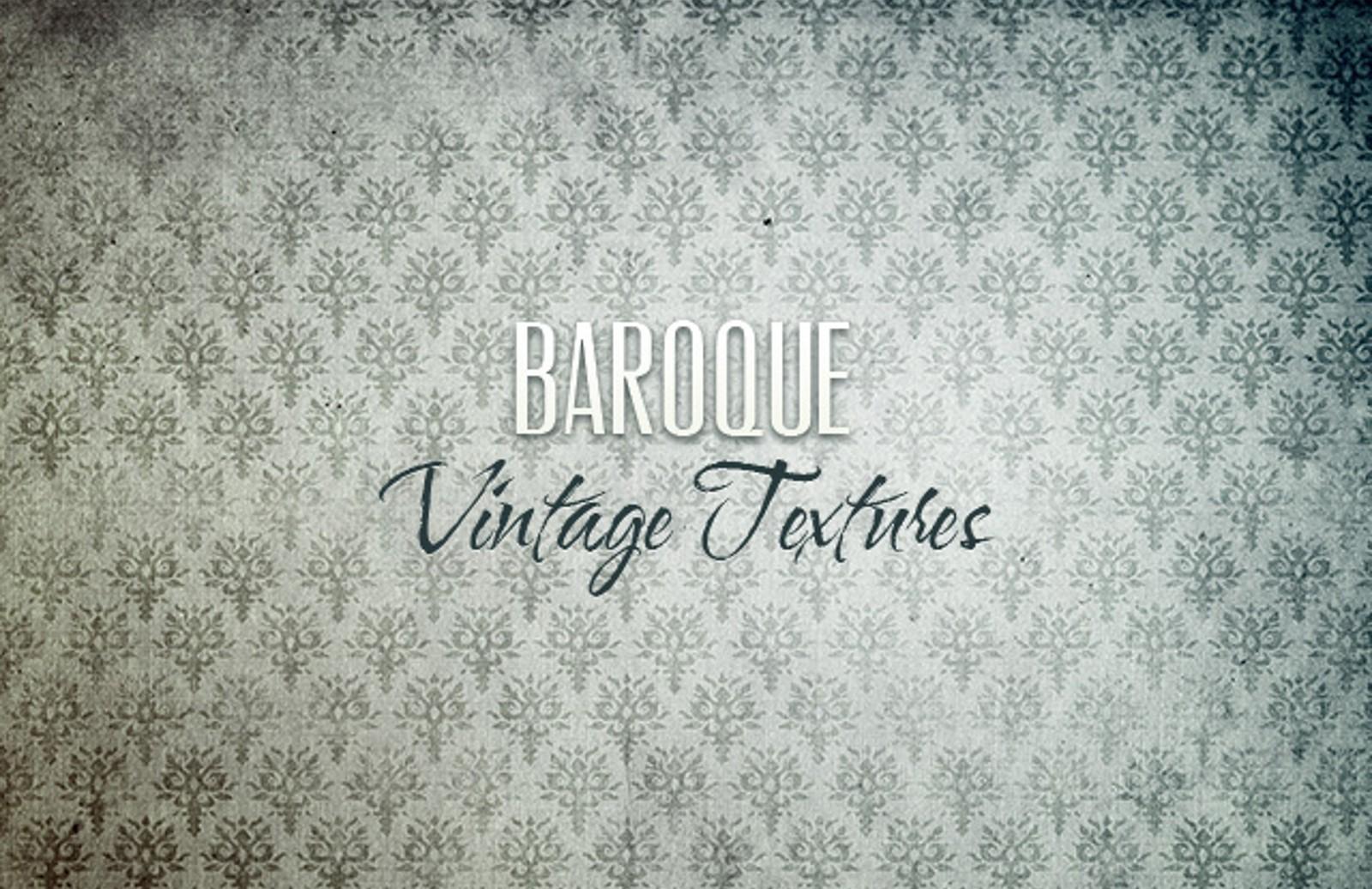 Vintage  Baroque  Textures  Preview1