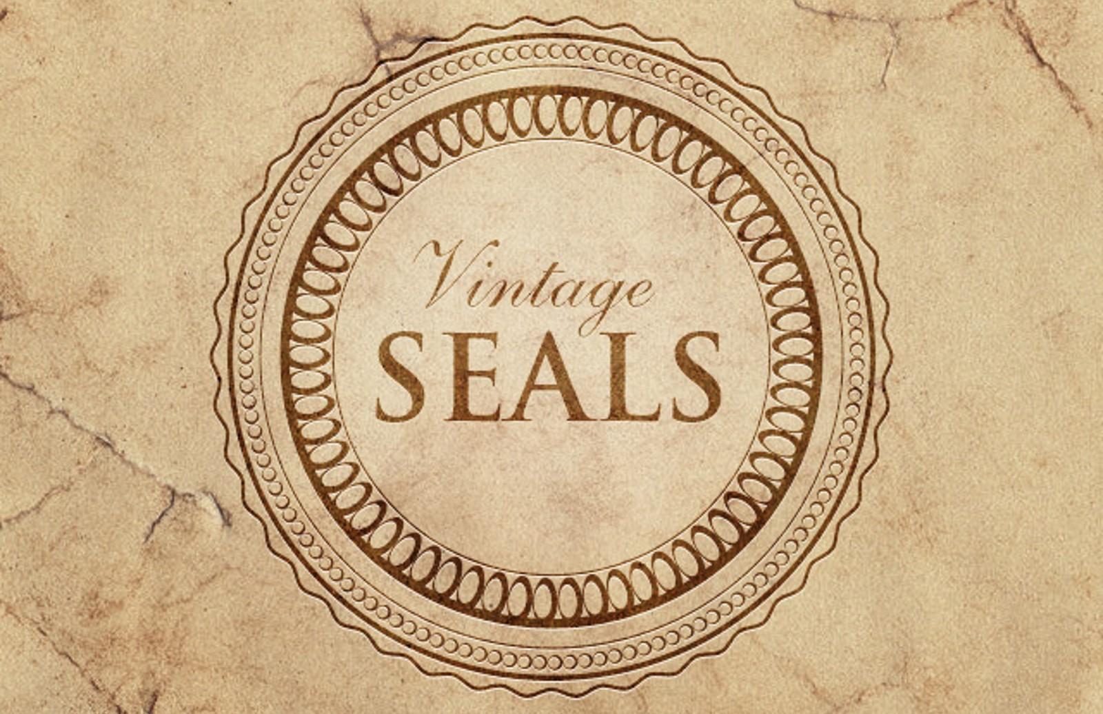 Vintage  Seals  Preview1