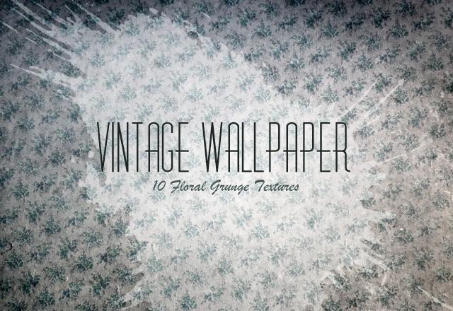 Vintage Floral Wallpaper Textures