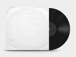 Vinyl Record Cover Mockup 2