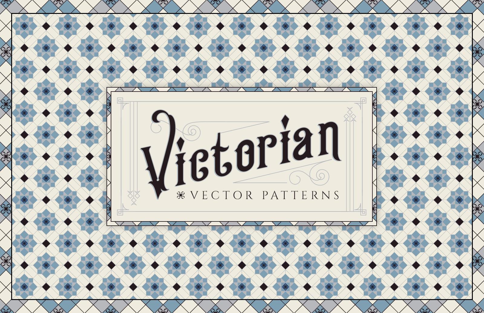 Victorian Vector Patterns 1
