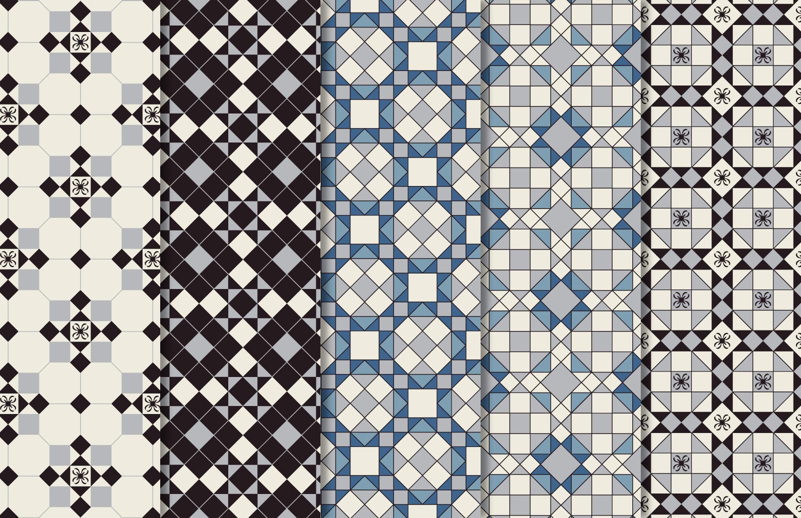 Victorian Vector Patterns 2