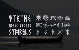 Viking Norse Vector Symbols