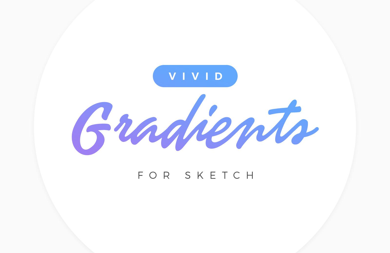 Vivid Gradients For Sketch Preview 1