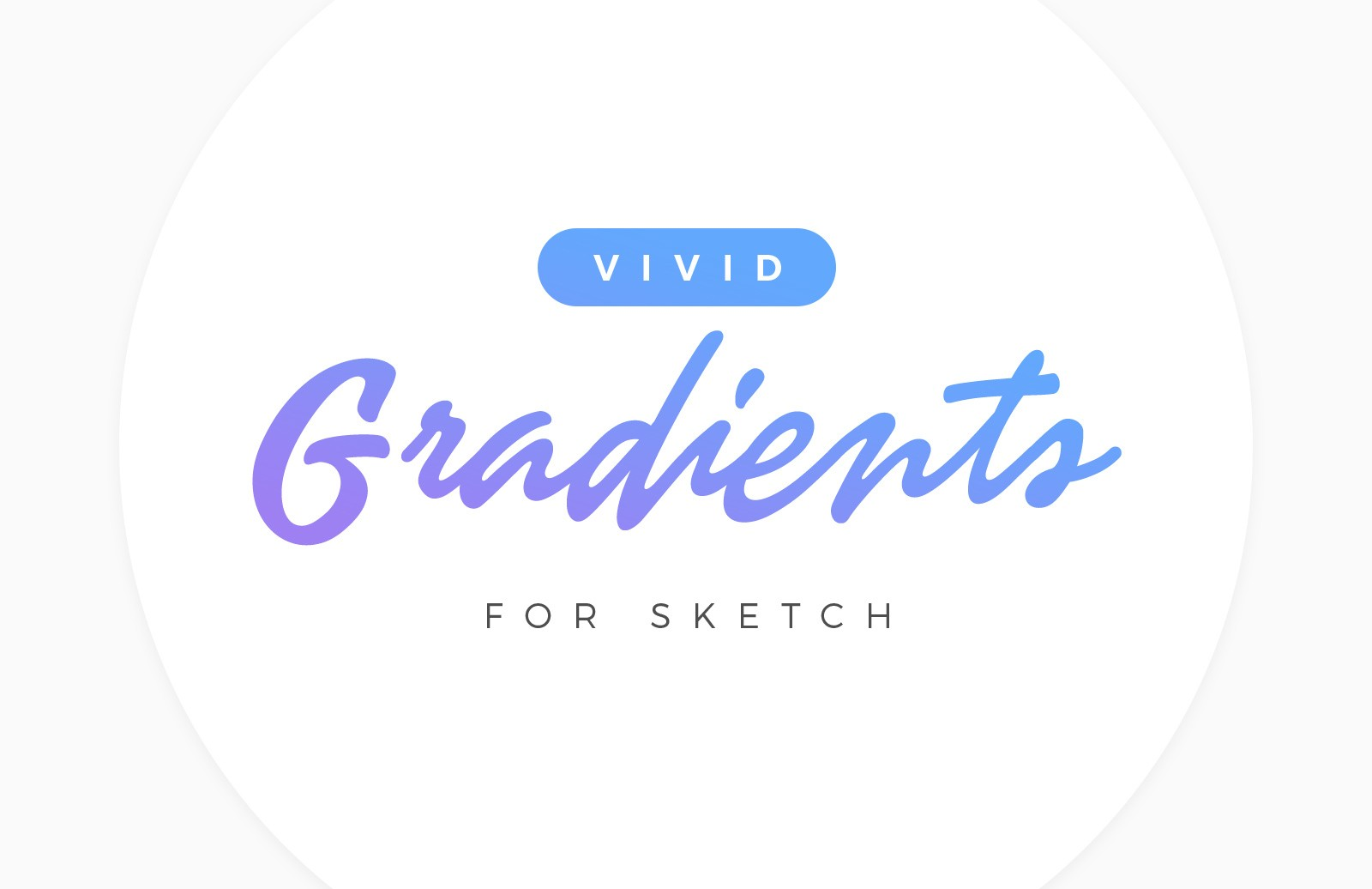 Large Vivid Gradients For Sketch Preview 1