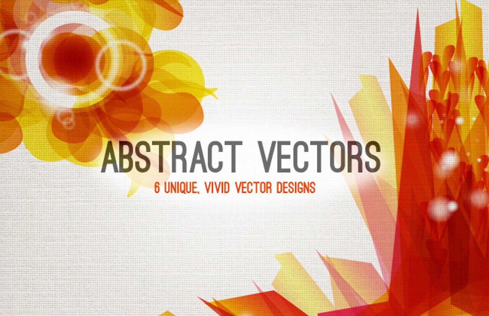 Vivid  Abstract  Vectors  Preview1