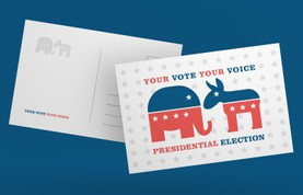 Vote Postcards Templates