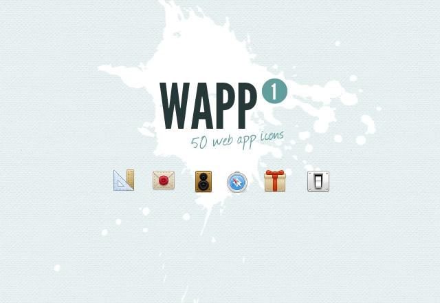 WAPP Web App Icons