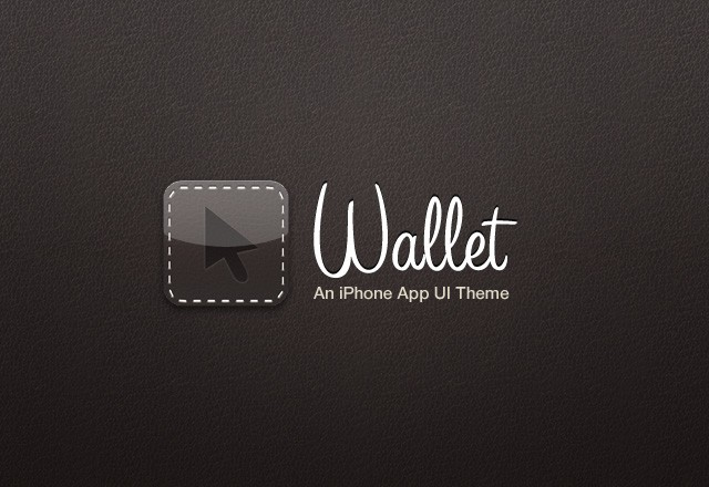 Wallet: iPhone App UI Theme
