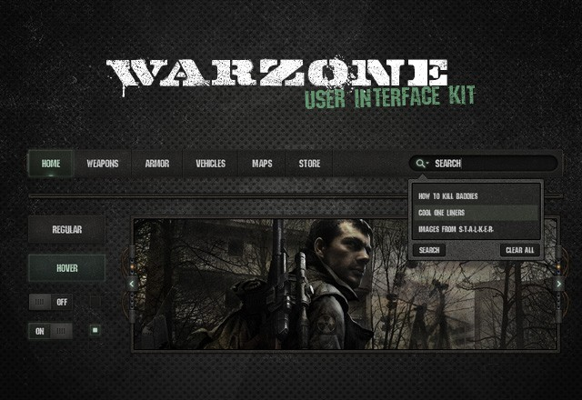 Warzone  Ui  Kit  Preview1
