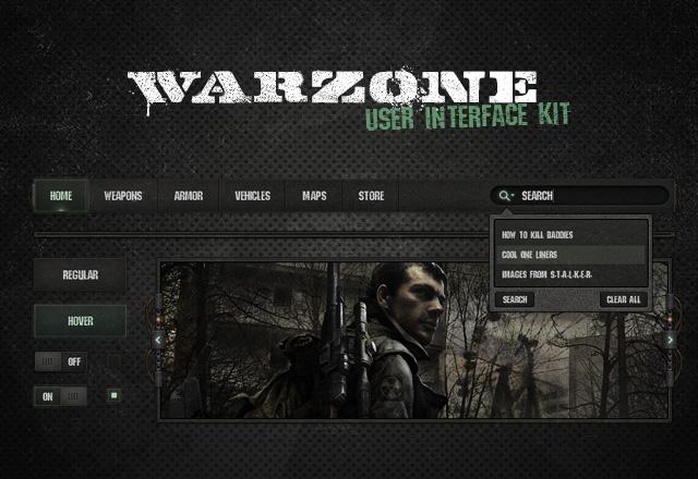 Warzone UI Kit