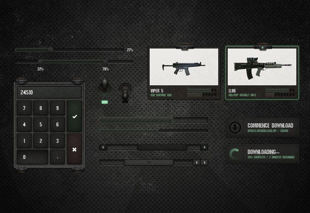 Warzone  Ui  Kit  Preview2