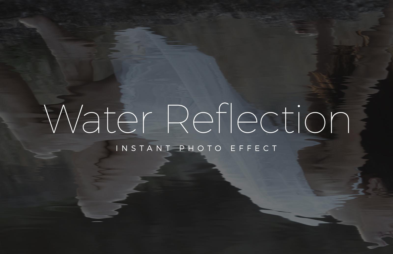 Water Reflection Mockup