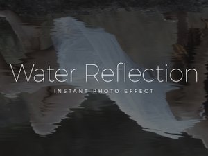 Water Reflection Mockup 1