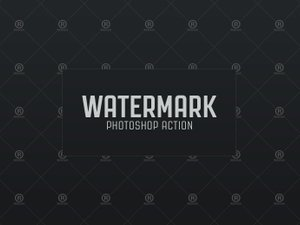 Watermark Photoshop Action 1