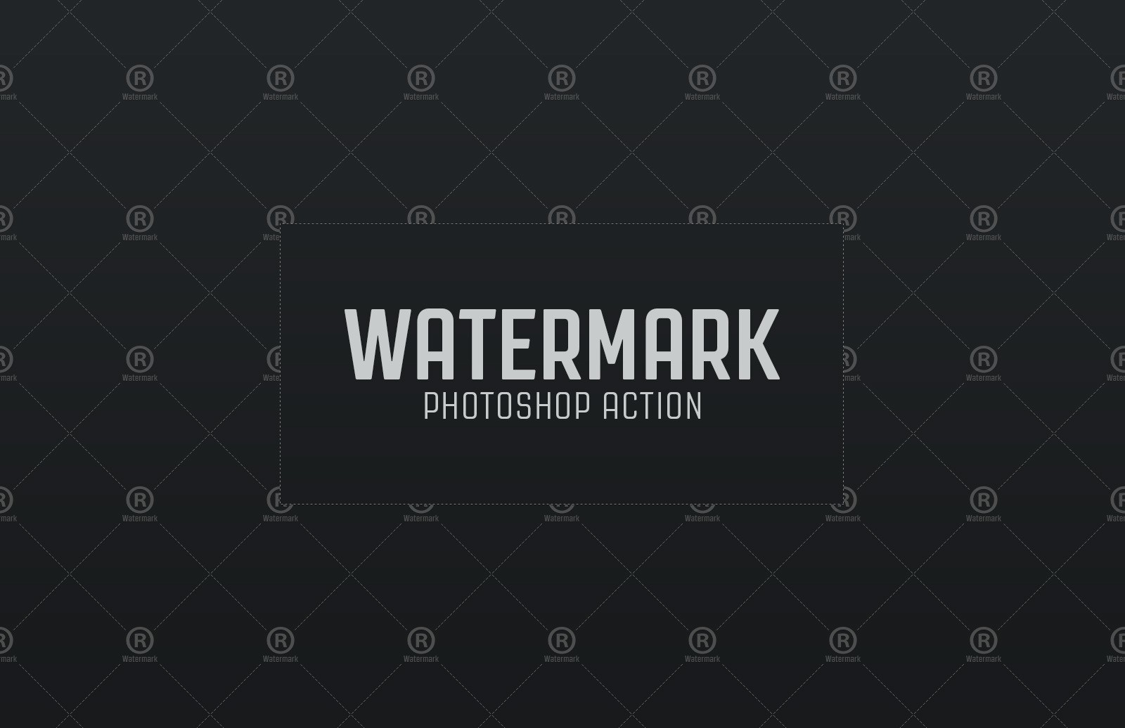 Watermark Photoshop Action Preview 1