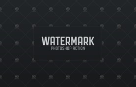 Watermark Photoshop Action
