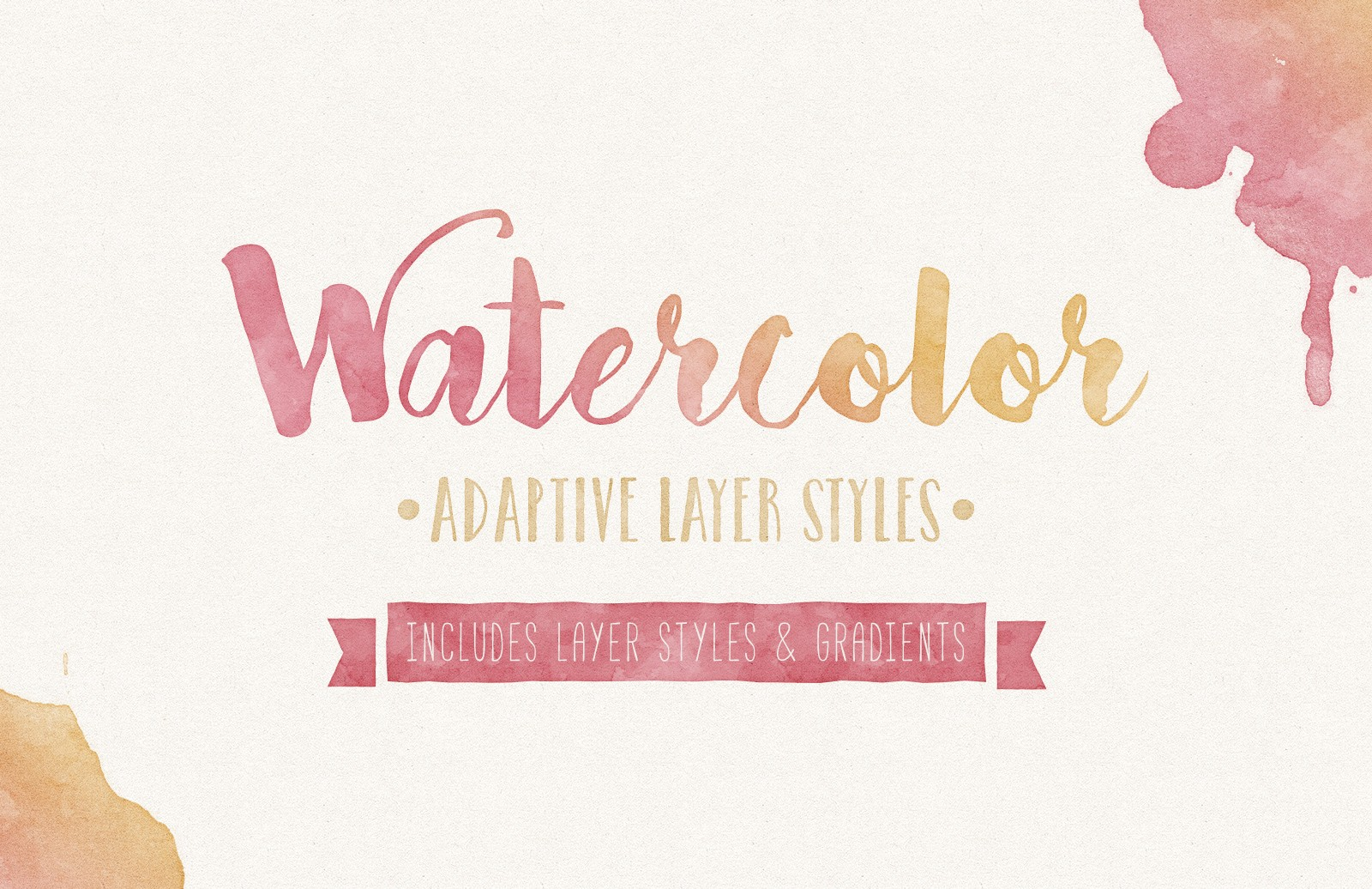 Watercolor  Adaptive  Layer  Styles  Preview 1