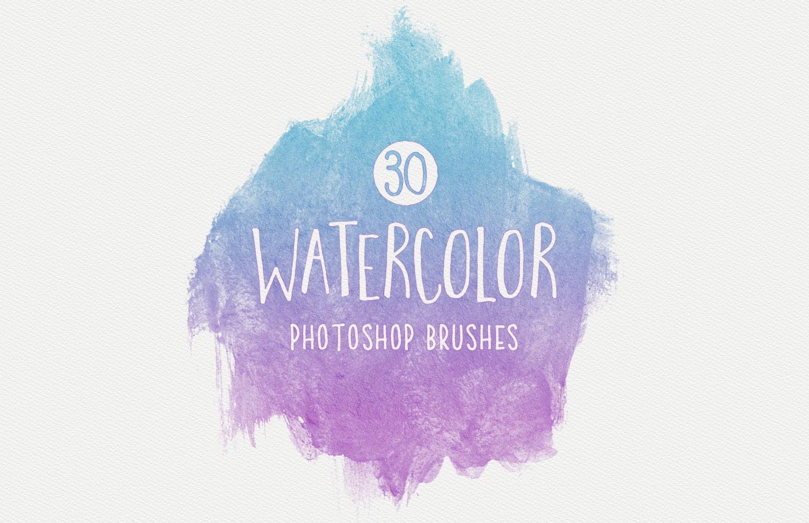 Watercolor Brushes Preview 1