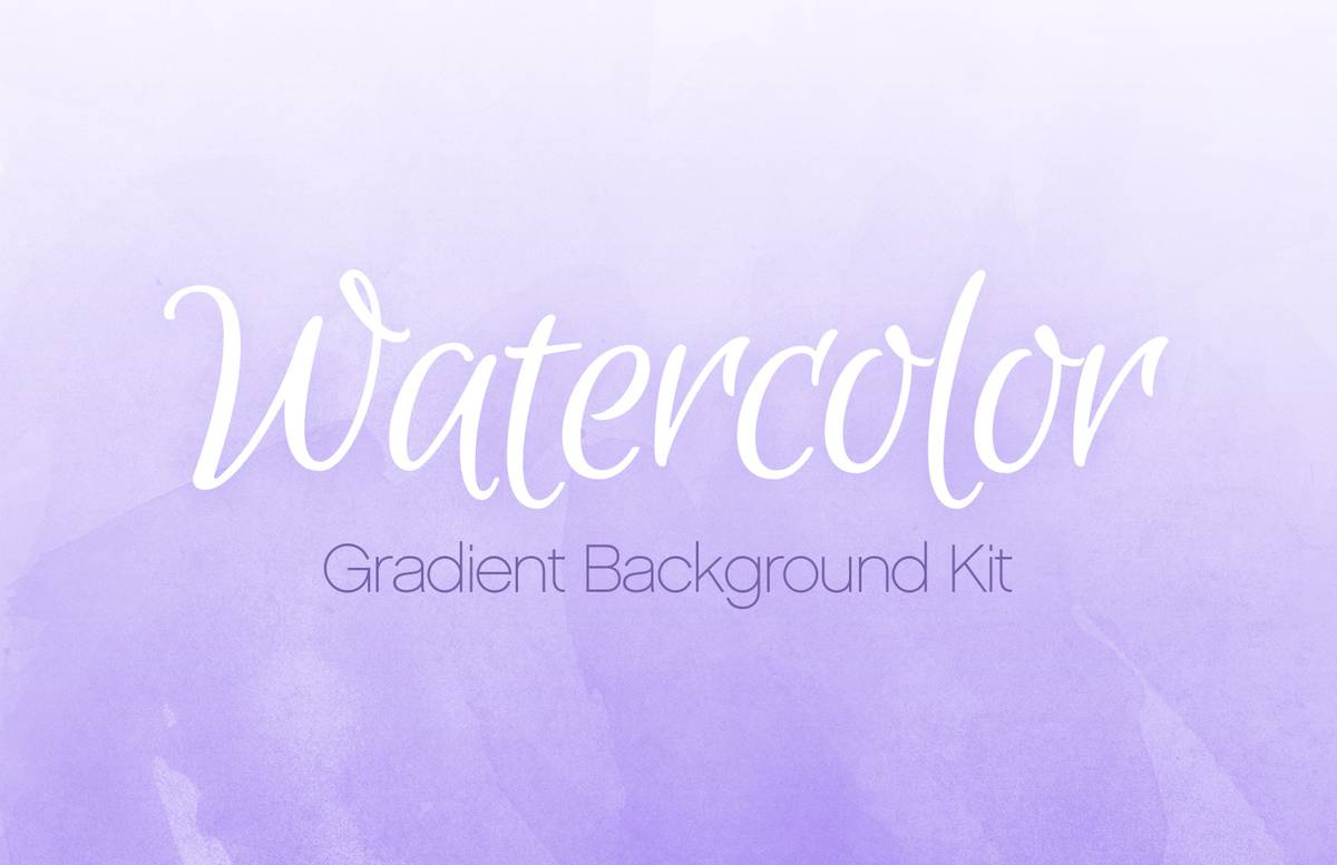 Watercolor  Gradient  Background  Kit  Preview 1