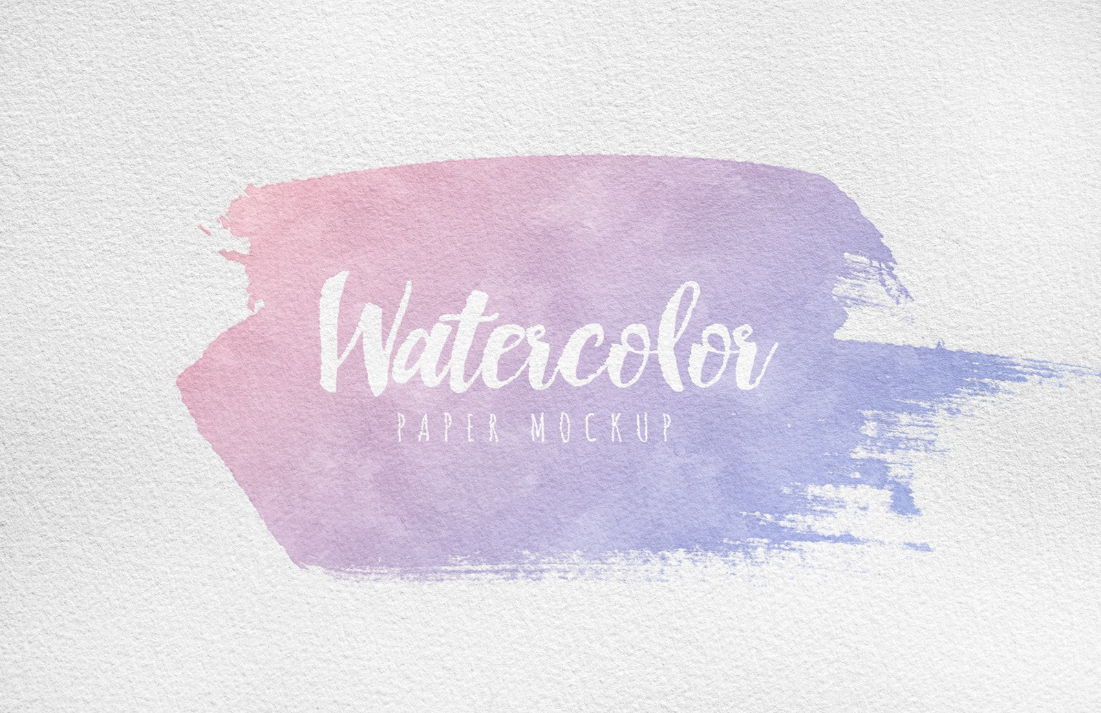 Large Watercolor Paper Mockup Preview 3