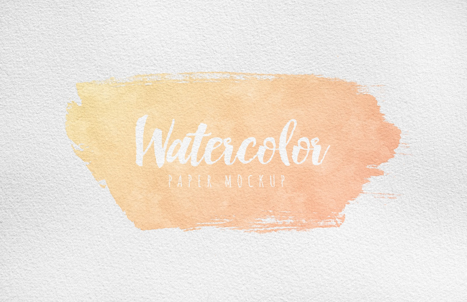 Large Watercolor Paper Mockup Preview 5