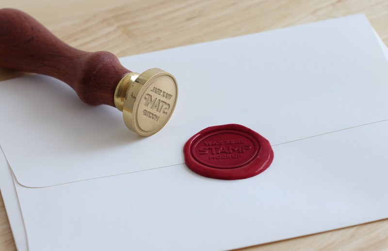 Wax  Seal  Stamp  Mockup  Preview 1