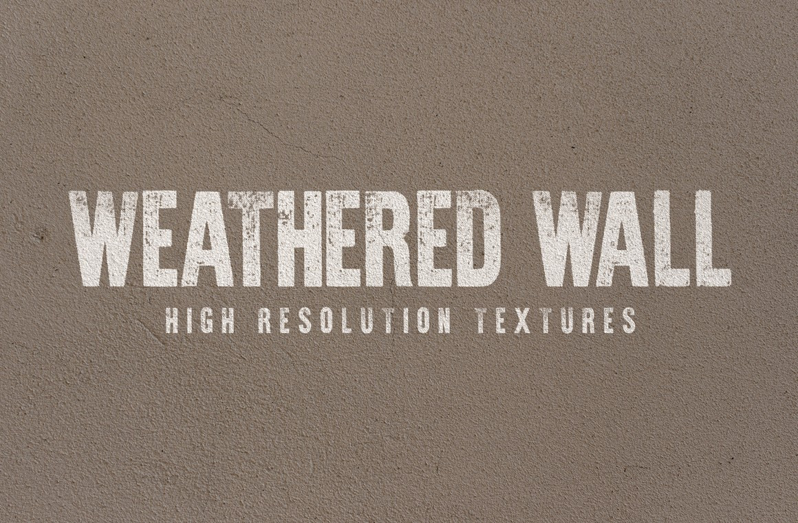 Weathered Wall Textures