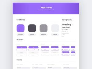 Medialoot Web Components Kit 2