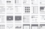 Web Sitemap & Flowchart Tiles — Medialoot
