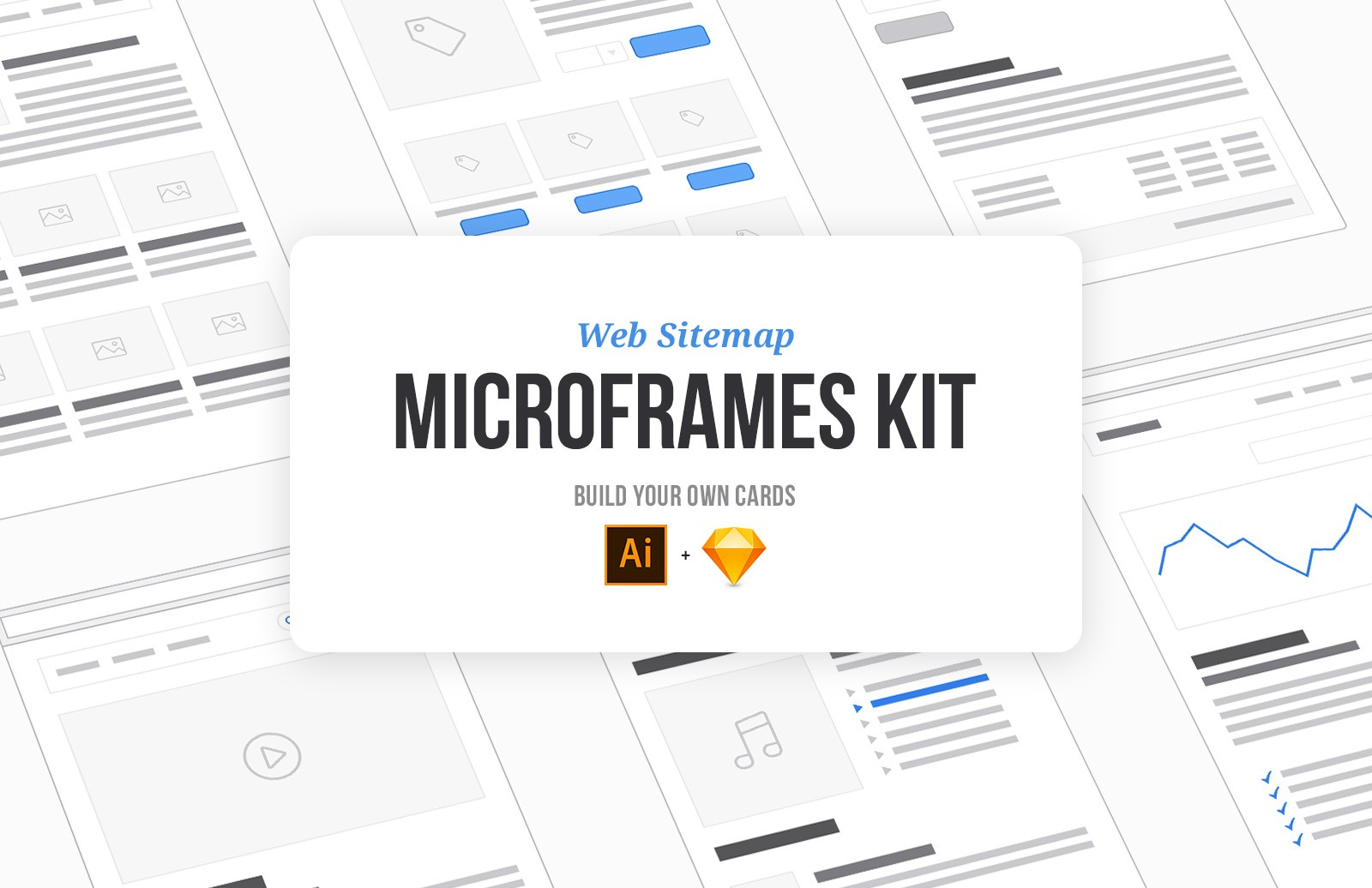 Web Sitemap Microframes Kit Preview 1A