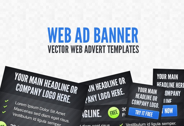 Web Ad Banner Template