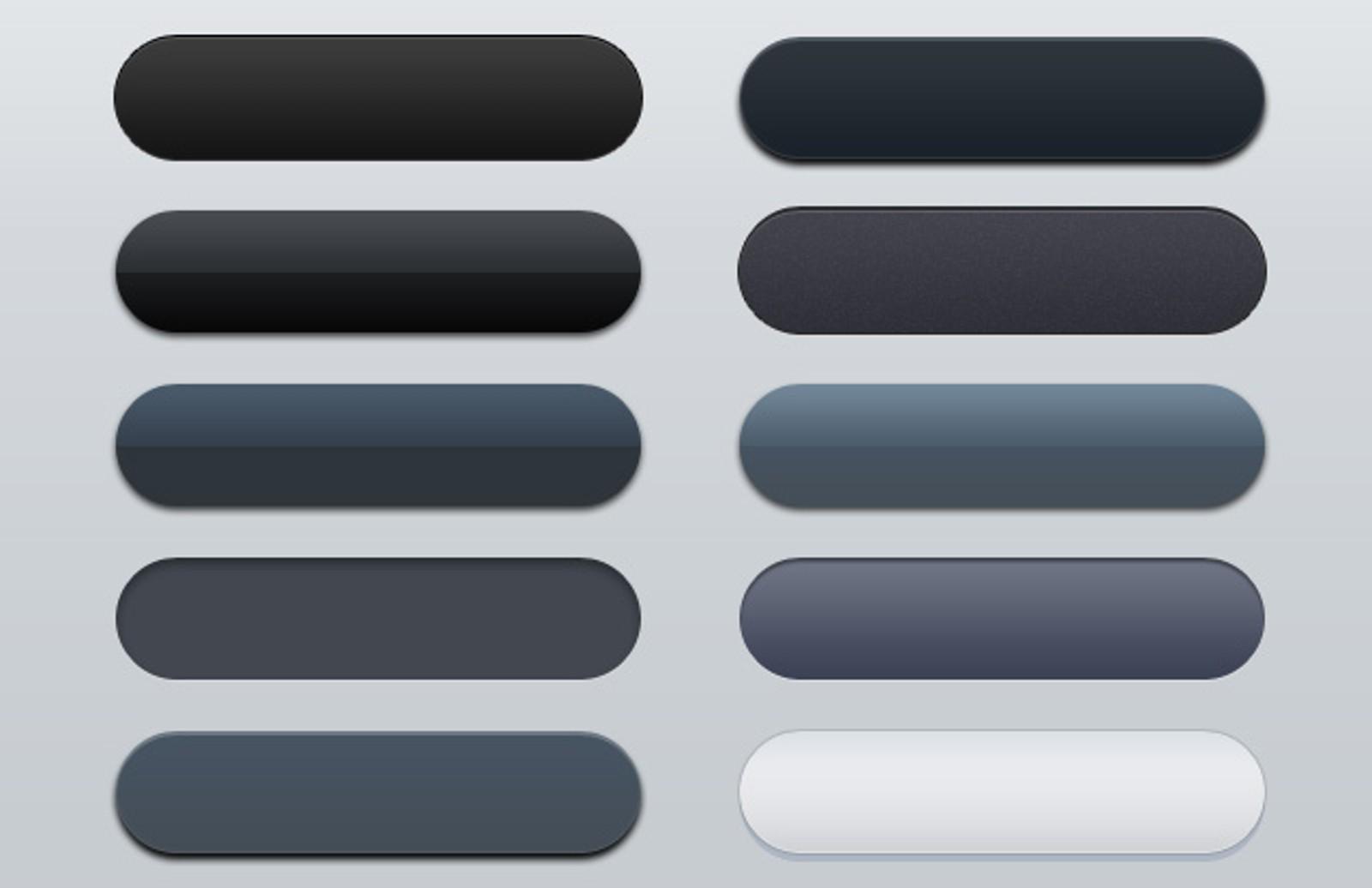 Web  Button  Styles 1
