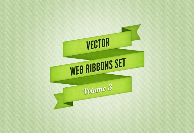 Web Ribbons Set - Vol 3